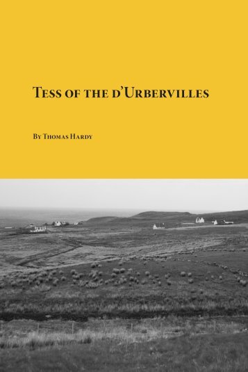 Tess of the d'Urbervilles - Planet eBook