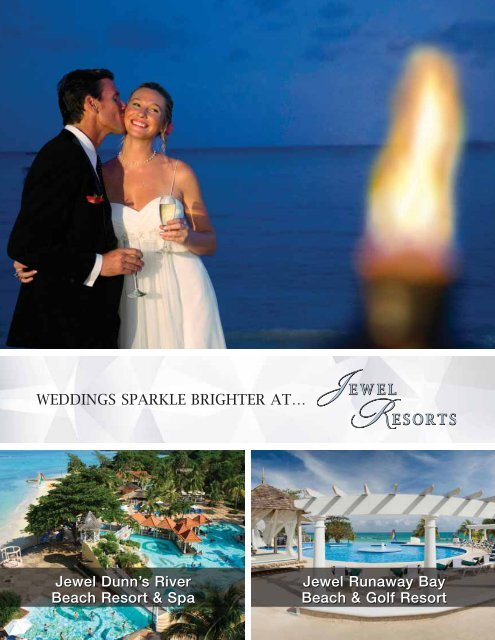 Download our Wedding Packages (PDF) - Jewel Resorts