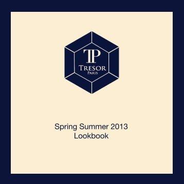 Spring Summer Look Book - Tresor Paris