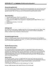 MERKBLATT zu kelesto-Klinkerverbundsystem - Keller AG Ziegeleien
