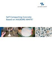 White Self Compacting Concrete - Aalborg Portland