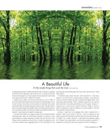 Chicken Soup for the Soul Magazine Story.pdf - Lindsay Kyte