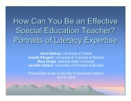 How Can You Be an Effective Special Education Teacher? - copsse ...