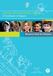 Special Educational Needs - A Continuum of Support (Resource ...
