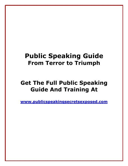 www best speech topics com