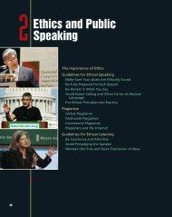 Ethics and Public Speaking