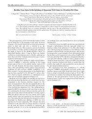 Rashba-Type Spin-Orbit Splitting of Quantum Well ... - Physik-Institut