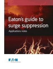 Eaton's guide to surge suppression - Eaton Corporation
