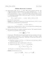 ee364a homework 3 solutions