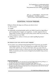 thesis proofreading rates