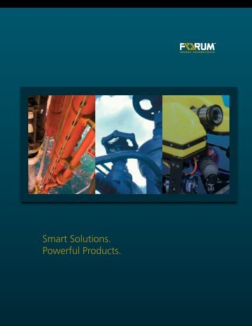 Download our Corporate Brochure - Forum Energy Technologies