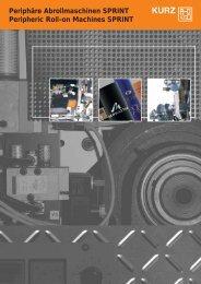 Hot Stamping Machine Duosprint/Sprint - Leonhard Kurz Stiftung ...