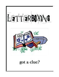 Letterboxing Workbook_v2 - Girl Scouts of Citrus Council