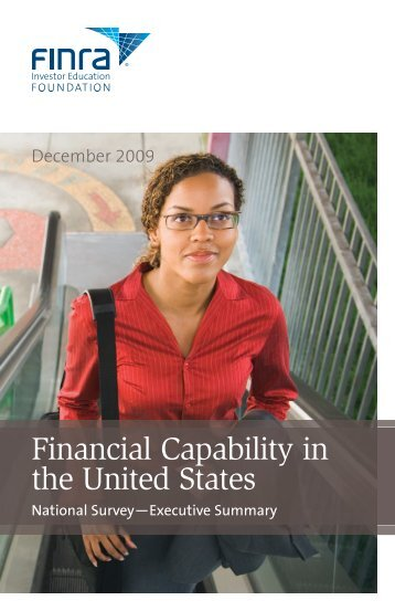 Financial Capability in the United States - FINRA Investor Education ...