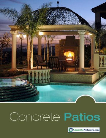 Concrete Patios.indd - The Concrete Network