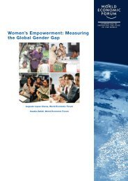 Women's Empowerment: Measuring the Global Gender Gap - World ...