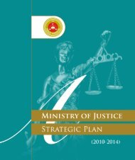 Strategic Plan - republic of turkey ministry of justice