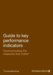 Guide to key performance indicators - PwC