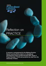 Reflection on PRACTICE - Routledge