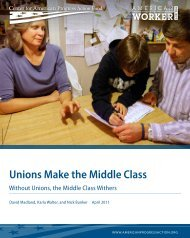 Unions Make the Middle Class - Center for American Progress ...