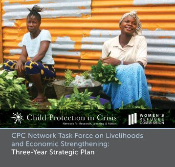 CPC Network Task Force on Livelihoods - Child Protection in Crisis ...