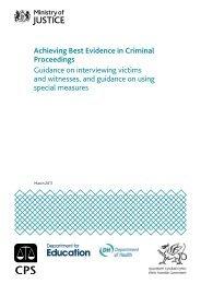 Achieving Best Evidence in Criminal Proceedings - PDF - Crown ...