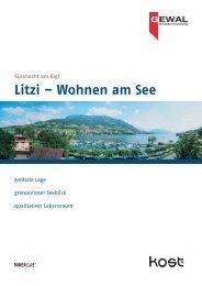 Litzi – Wohnen am See - Kost Holzbau AG