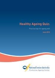 Healthy Ageing Quiz: - National Seniors Australia