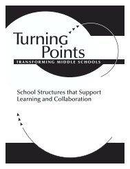 School Structures that Support Learning and Collaboration