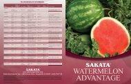 WATERMELON HYBRIDS - Sakata Vegetables