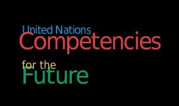 Competencies - UNEP