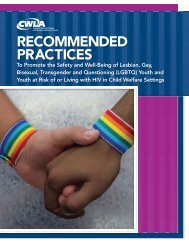 Recommended Practices to Promote the Safety and Well