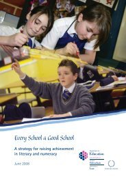 Literacy and Numeracy.indd - Department of Education Northern ...