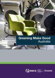 Greening Make Good Australia - RICS