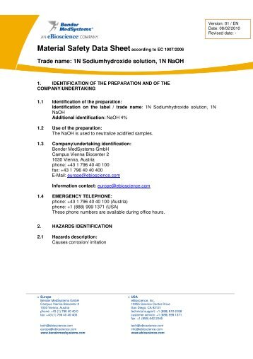 1N NaOH (English) - eBioscience