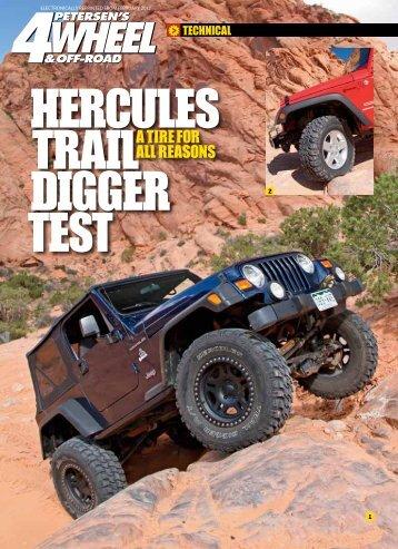 Hercules Trail Digger TesT