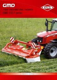 GMD 102 F series - KUHN farm machinery