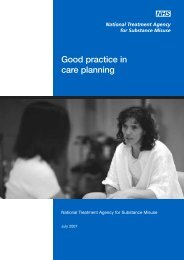 Good practice in care planning - National Treatment Agency for ...