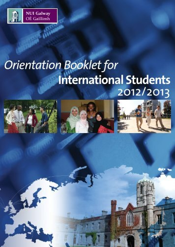 Orientation Booklet For - National University of Ireland, Galway