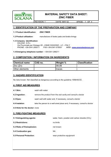 Material Safety Data Sheet Tiger Foam Spray Foam