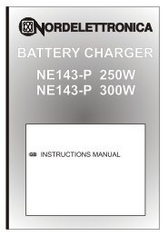 battery charger ne143-p 250w ne143-p 300w - Battery Chargers ...