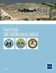 ITAR Enforcement Digest - WorldECR
