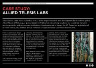 case study: allied telesis labs - Doing business in New Zealand from ...
