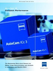 AxioCam IC Compact Performance - Allied High Tech Products, Inc.