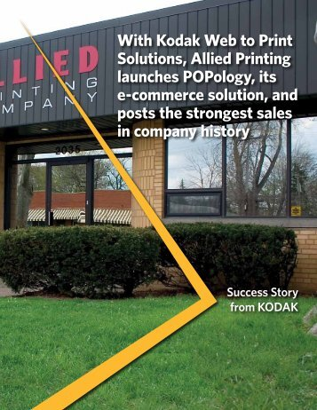 With Kodak Web to Print Solutions, Allied Printing launches ...