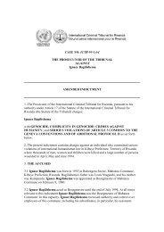 AMENDED INDICTMENT - International Criminal Tribunal for Rwanda