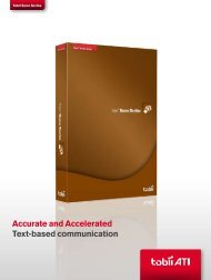 Sono Scribe Product Leaflet - Tobii