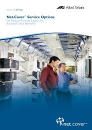 Download Net.Cover pdf - Allied Telesis