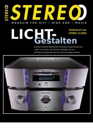 Gestalten Sonderdruck aus STEREO 12/2004 - Kern + ...