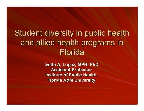 allied health - USF Health